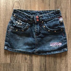Dereon Denim Skirt Size 6